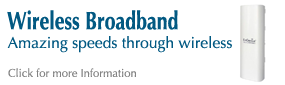 Wireless broadband and leased lines ... unique to Doncaster